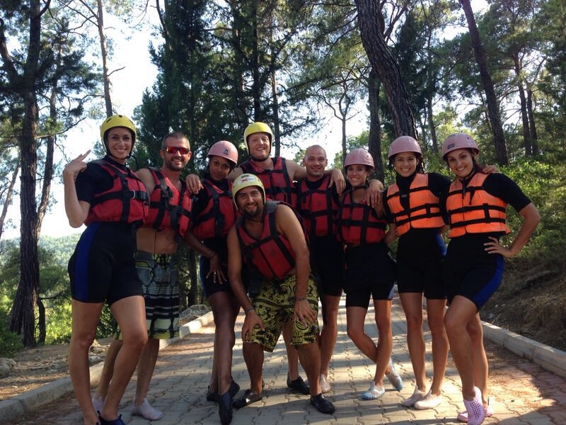 White Water Rafting- The Saturday Crew