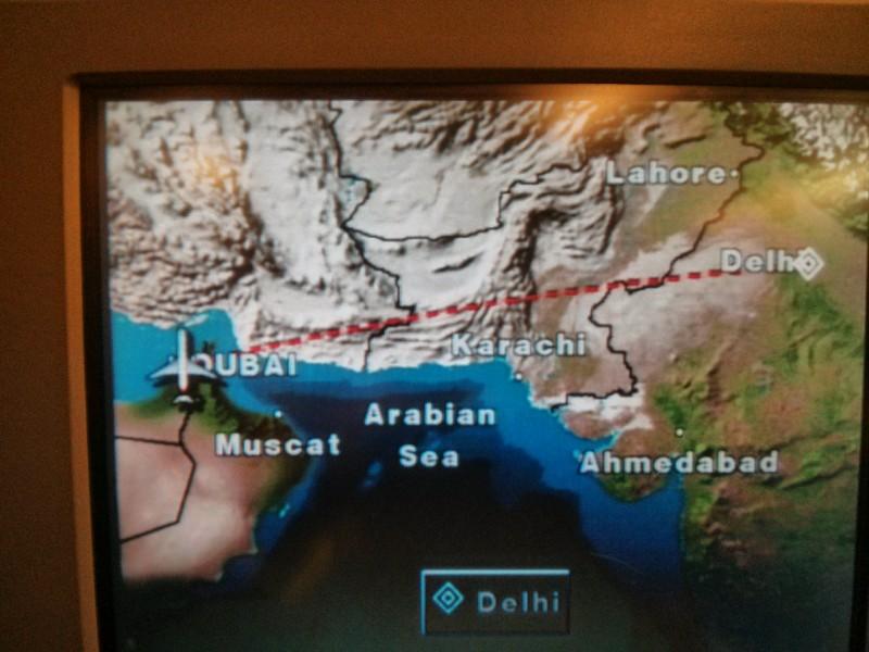 Dubai to Delhi