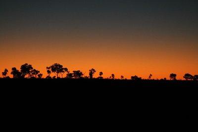 Sunset at Ngumban Cliffs