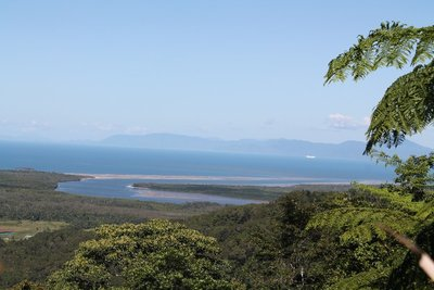 Daintrees view to the ocean