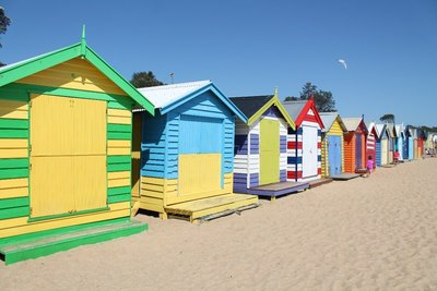 Brighton Beach Shacks
