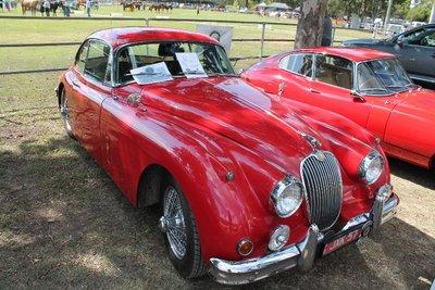 Vintage cars at the Rodeo