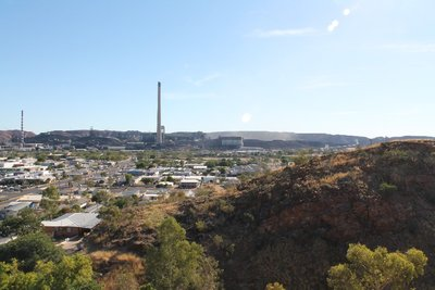 Mount Isa town view