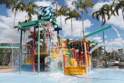 The water playground