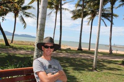 JB on the beach