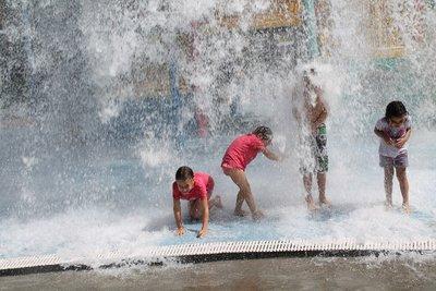 Water playground fun