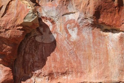 More Aboriginal paintings