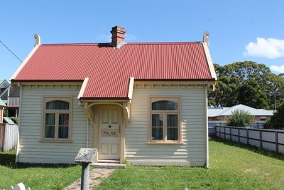 Strahan historic police station