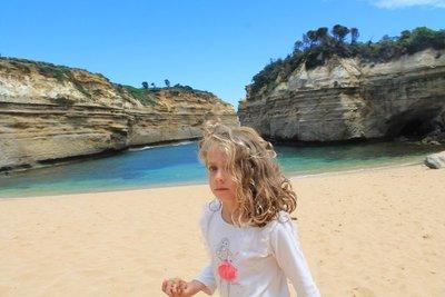 Jasmine at the beach