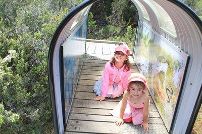 Fun kids activities on the Enchanted walk