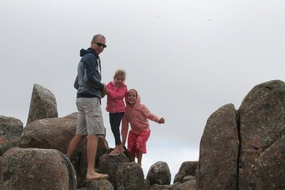 Mt Wellington rocks
