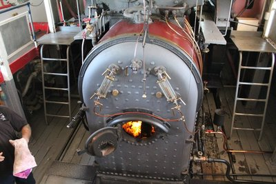 the Paddle Boat engine room