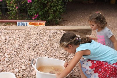 Opal mining for Jasmine and Alyssa