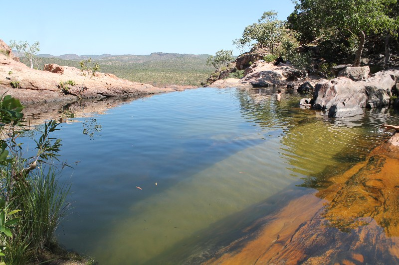 Kakadu - Top of Gunlom Falls