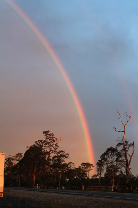 Stunning rainbow - surely there is gold at the end of this rainbow