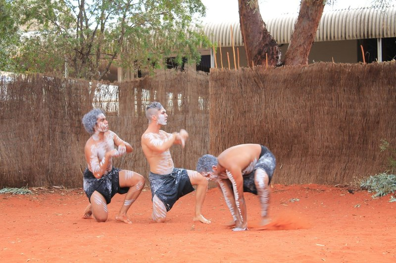 Traditional Aboriginal dance