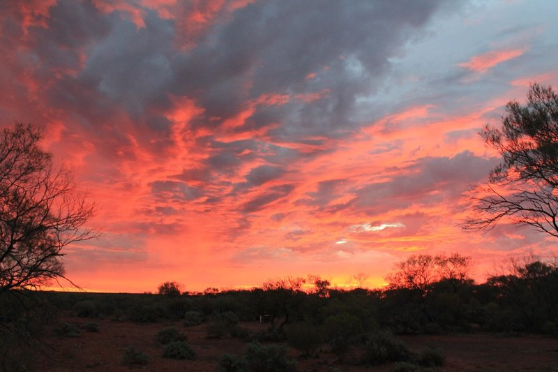 Sunrise at Yulara