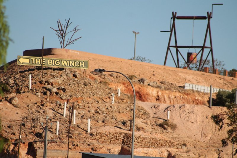 the Big Wench - I mean Winch!