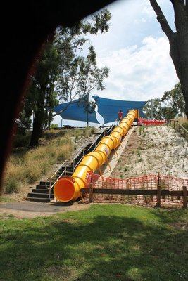 The big slide....