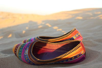 Colours of the Arabian Desert