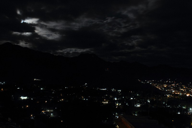 Leh City at Night