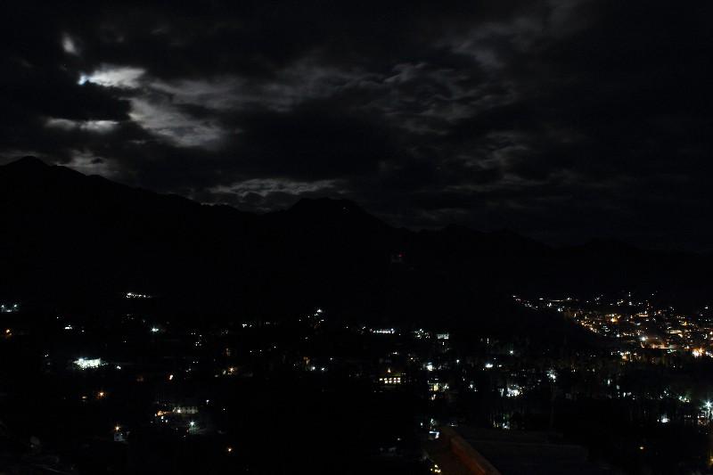 Leh City at Night
