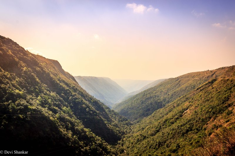 Cherrapunji Mountains