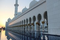 Sheikh Zayed Mosque - Reflection