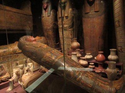 Mummy Medelhavsmuseet