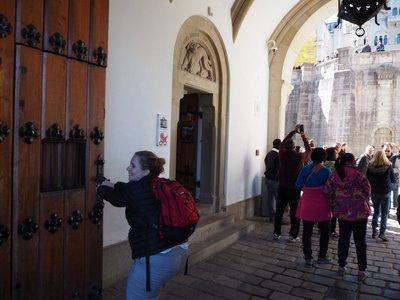 Just closing the door at Neuschwanstein