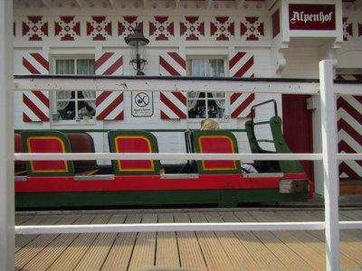 100 year old roller coaster Tivoli