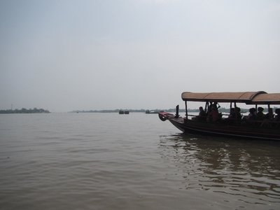 Cruising the mighty Mekong