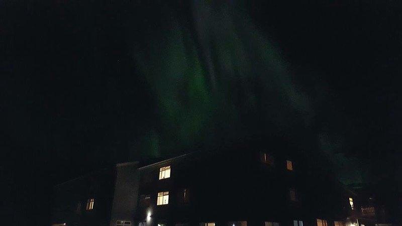 Northern lights by Birte