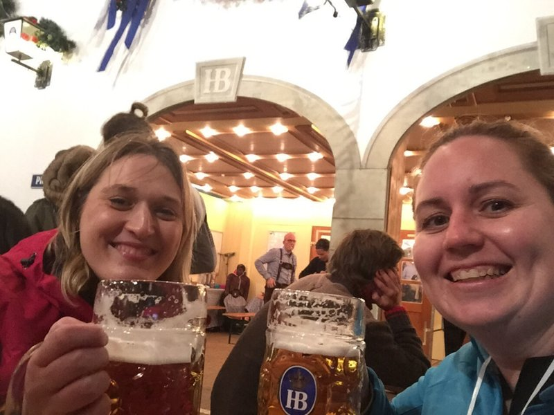 Birte & Christie at Oktoberfest 2015