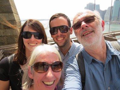 Brooklyn Bridge Selfie