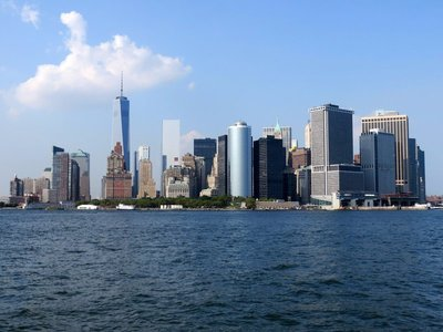 Manhatten From The Bay
