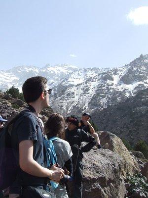 Aremd mountains snowcap