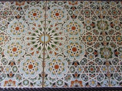 Palace hotel mosaic