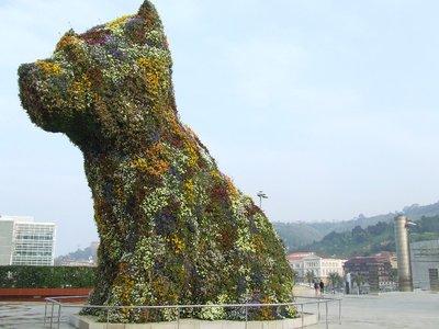 Guggenheim dog
