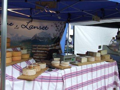 Local Ossau Iraty sheep cheese