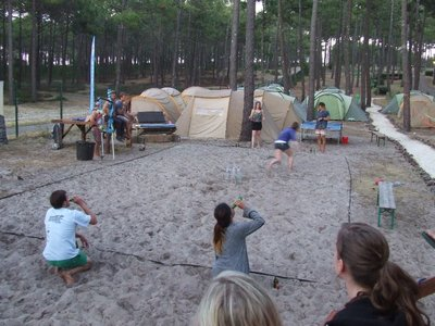 drinking games at surf camp