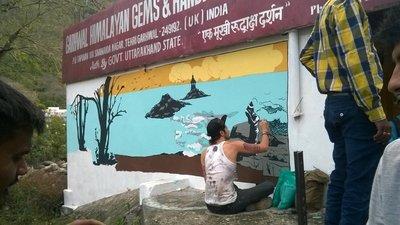 Street Art Rishikesh