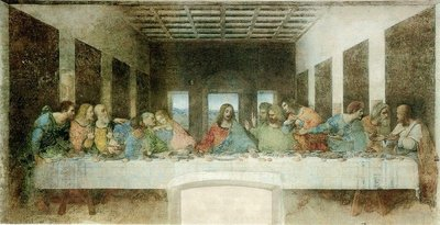 The Last Supper close up. Picture also lifted from their website