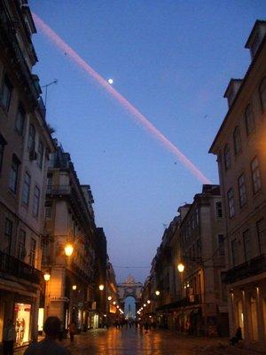 Cidade Baixa, at night