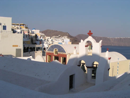 Houses in Fira