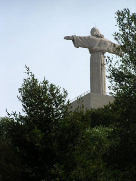 Back of the Cristo Rei