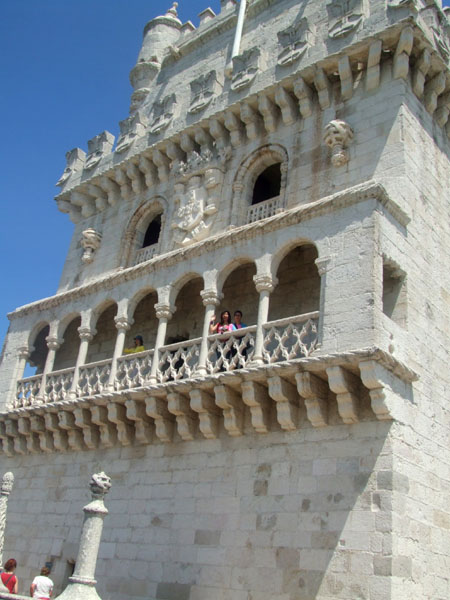 Belem Tower sunny day