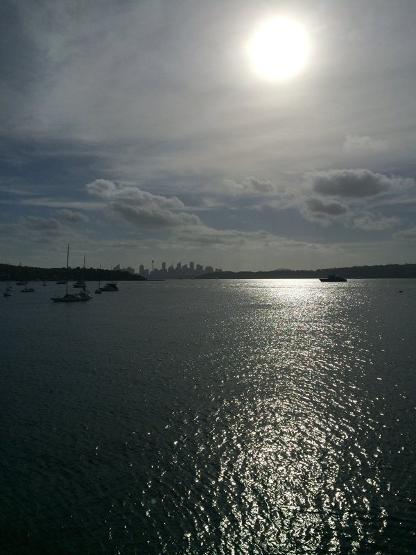 Watsons Bay sunset views (CBD in background)