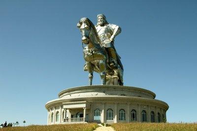 Chenggis Statue