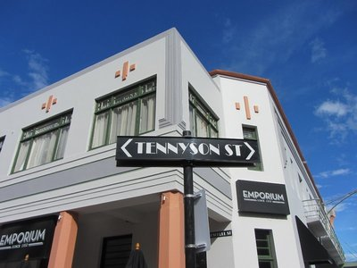Art Deco streets of Napier, New Zealand